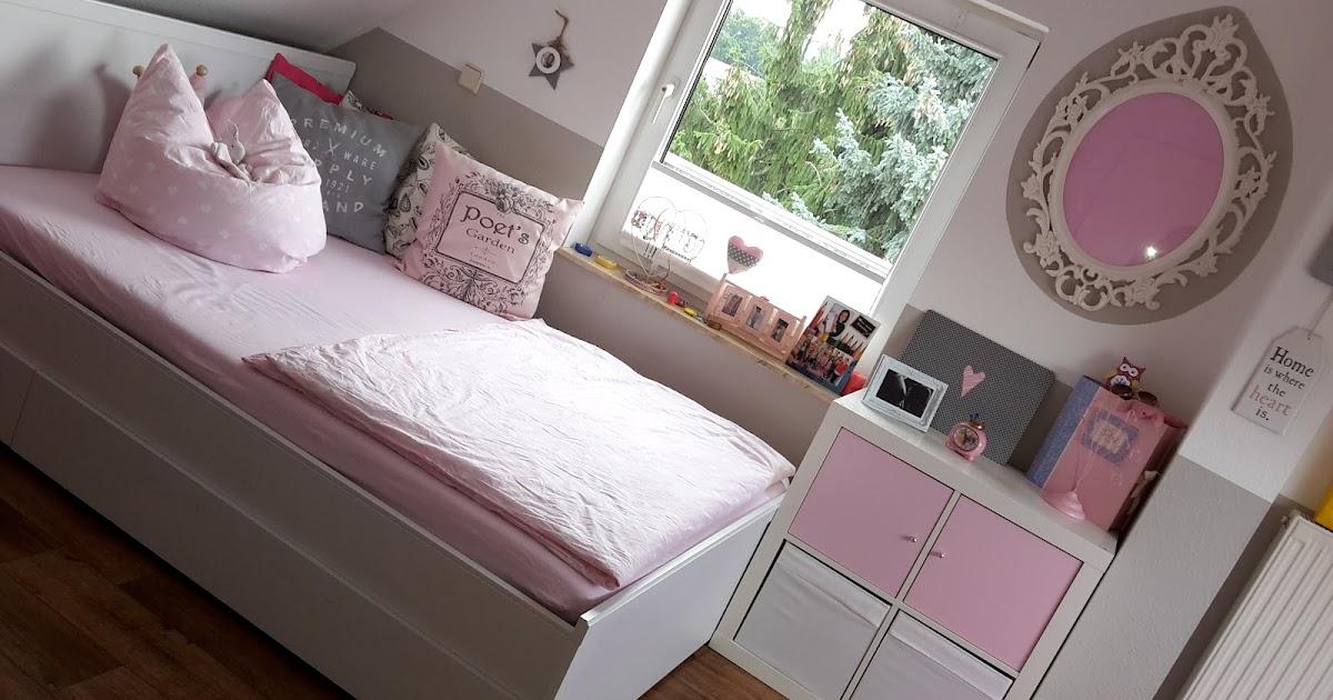 lilexxleli rosa graues m dchenzimmer. Black Bedroom Furniture Sets. Home Design Ideas