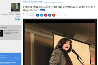 Terri McCormick What Sex is a Republican GOP women