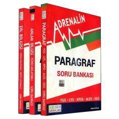Adrenalin YGS Dil Bilgisi, Anlam Bilgisi ve Paragraf Soru Kitabı ÜçüBirArada