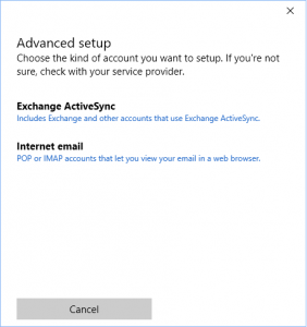 Cara Setting Email Hosting Pada Windows 10 4