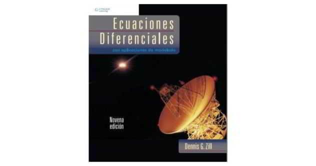 Ecuaciones diferenciales con aplicaciones de modelado, 9na Edición - Dennis G. Zill