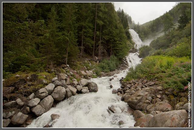 Cascadas de Stuibenfall (Austria)