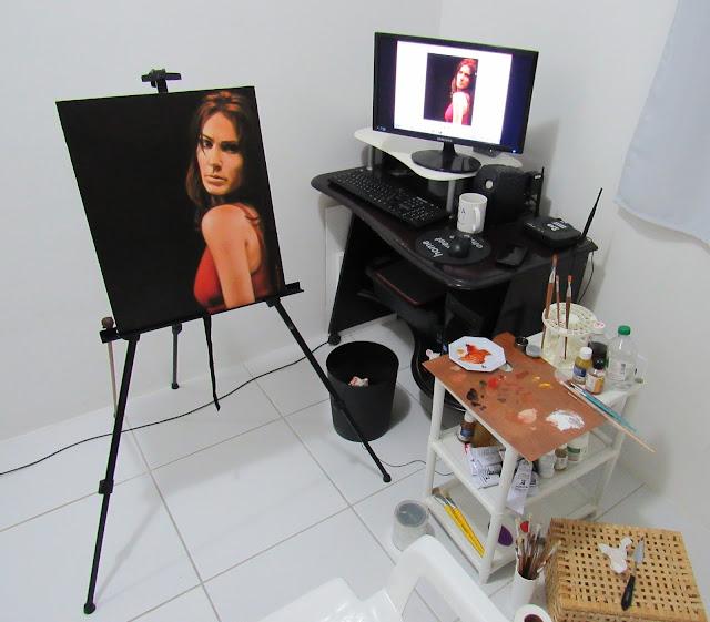 Atelie de pintura