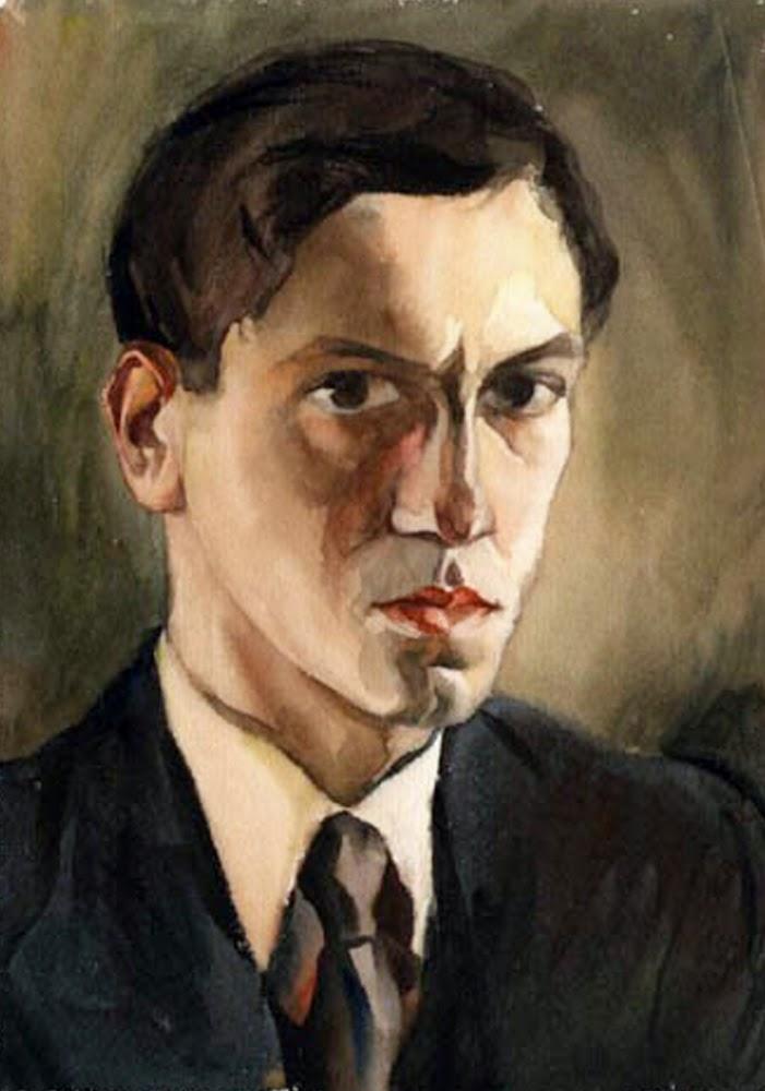 Teodoro Núñez Ureta, Self Portrait, Portraits of Painters, Fine arts, Painter Núñez Ureta