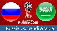 Russia vs Saudi Arabia live streaming - World Cup 2018 Live Stream