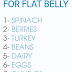 10 Best Foods For a Flat Belly