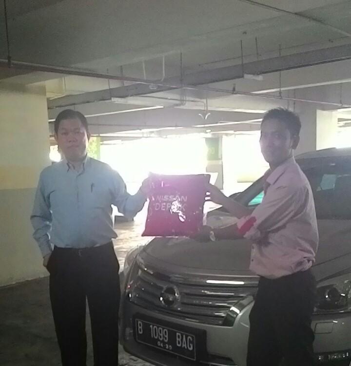 Terimakasih atas kepercayaan Pak Andi yg telah membeli Nissan New Teana melalui media www.touchnissan.com.  Semoga Berkah ya Pak...