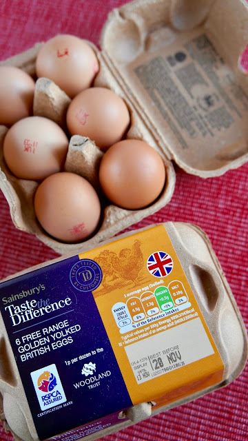 Fanny Cradock Giant Egg