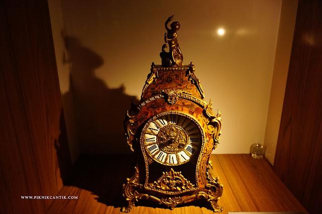 jam tua di Royal Gallery Sultan Abdul Aziz