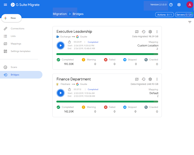 g suite migrate, G Suite Migrate, new first-party data transfer product
