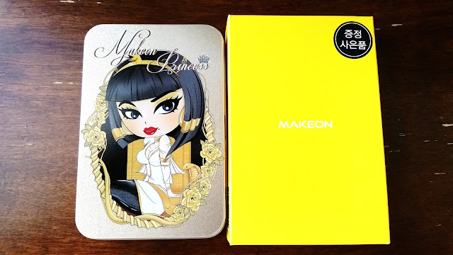 Tosowoong Makeon Princess Limited Edition Season 3 eyeliner set
