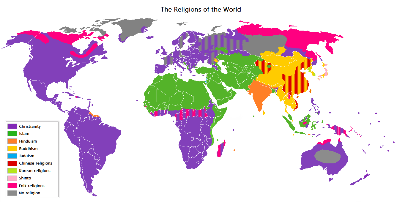 The Wrong Monkey: Religions Of The World