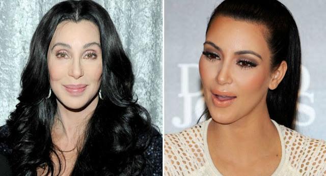 Cher se unió a Kim Kardashian en la alfombra roja en la Premiere de 'The Promise'
