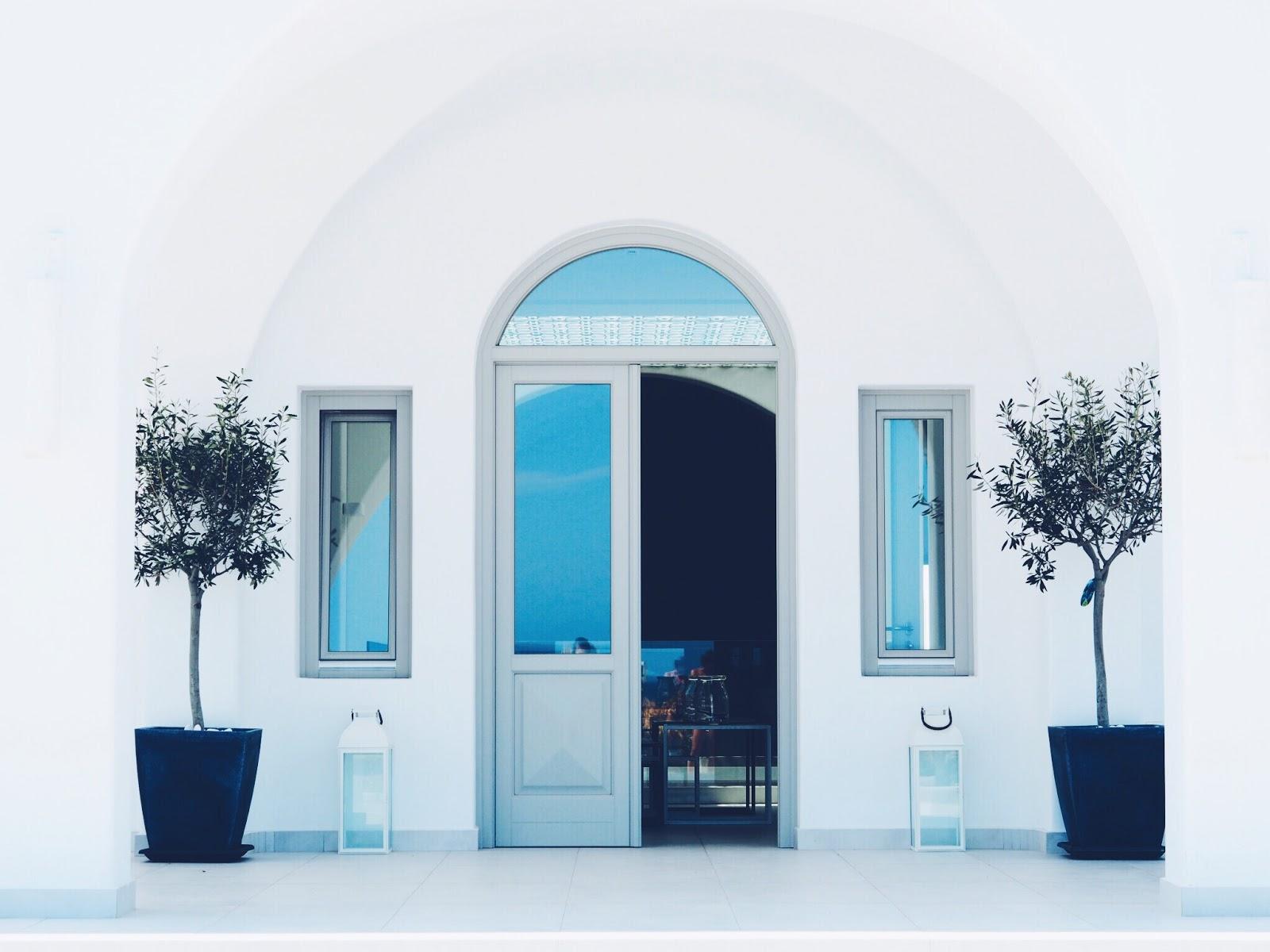 Santorini; Hotel Tour
