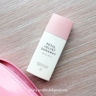 Review; Althea Korea's Petal Velvet Sunaway SPF50+ PA++++