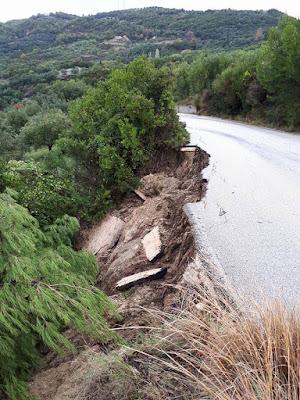 """ΠΡΕΒΕΖΑ- Δόθηκε το """"πράσινο φως"""" για την αποκατάσταση του δρόμου Ωρωπού – Καμαρίνα"""