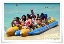 Boracay Activities, Banana Boat
