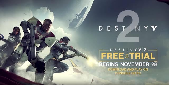 لعبة Destiny 2 متاحة للتجريب بالمجان إبتداء من اليوم على جميع الأجهزة