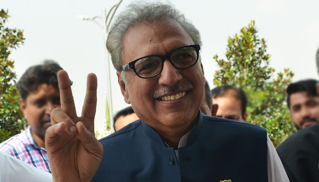 Dr Arif Alvi takes oath today