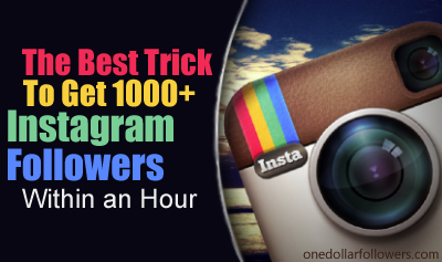 Buy Instagram Followers For $1