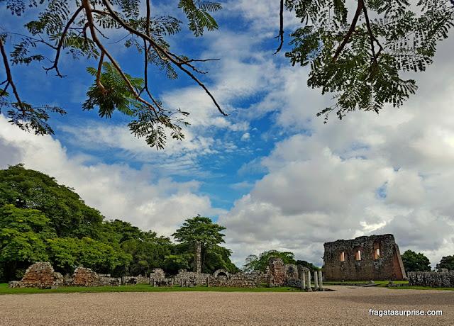 Praça Maior do Sítio Arqueológico de Panamá Viejo, Panamá