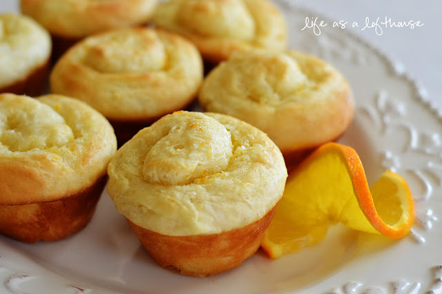 Soft, buttery and lightly sugared Orange Rolls that practically melt in your mouth. Life-in-the-Lofthouse.com