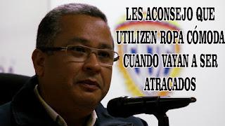 Director del CICP recomienda a los venezolanos usar Ropa Cómoda para evitar ser robados