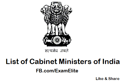 Latest Cabinet Ministers in India Updated