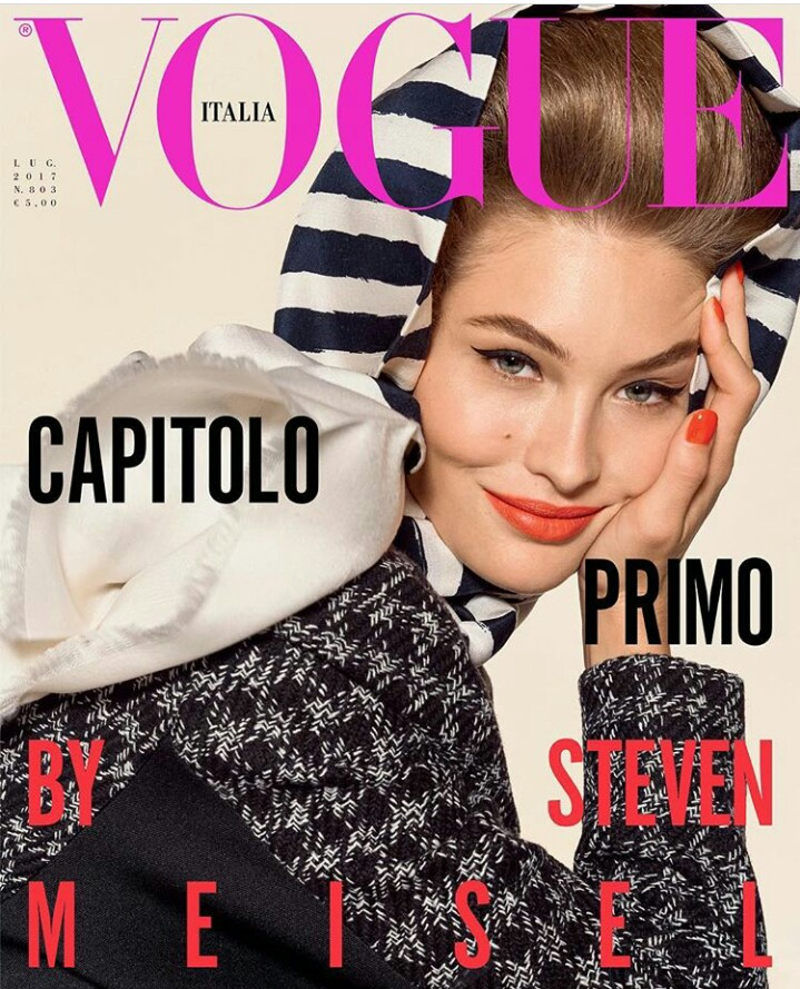 Bella Hadid Vogue Cover