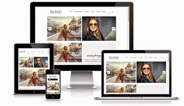 Blend Responsive Blogger Template Free Download