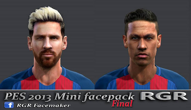 PES 2013 Mini Facepack FINAL by Rgr DS