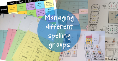 How to manage different spelling groups