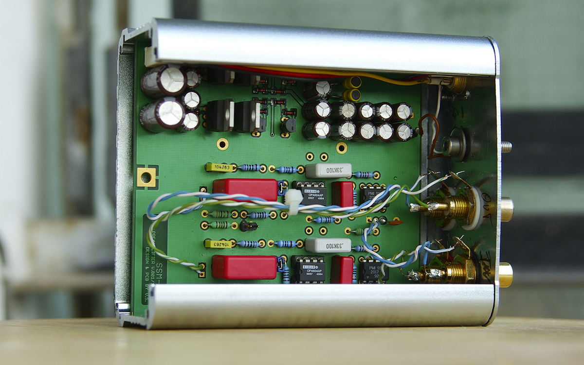 The Vs Ref Riaa Phono Preamplifier Ssm2017 Based Project Diy Circuit