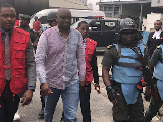 EFCC Returns Fayose Back To Custody After Pleading Not Guilty To Fraud Charges