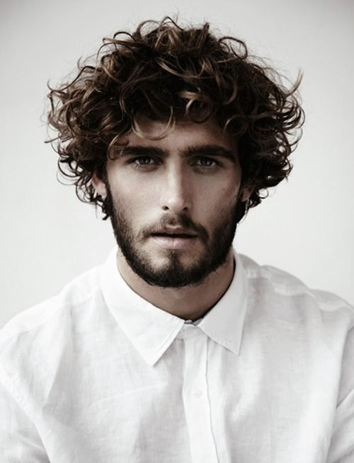 Strange Cool Beard Styles For Men With Curly Hair In 2015 Short Hairstyles For Black Women Fulllsitofus