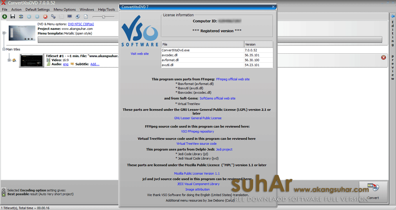 VSO ConvertXtoDVD full patch terbaru