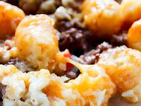 SLOW COOKER CROCK POT TATER TOT CASSEROLE RECIPE