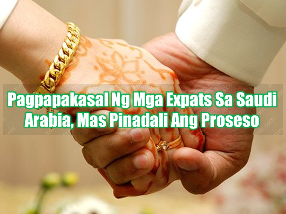"""If you are an expatriate in Saudi Arabia and you and your fiancee are planning to get married, you might benefit from easier process provided for expats in acquiring marriage license in the kingdom and proceed to your wedding at the comfort of your flat or anywhere you wish, provided that you can speak arabic.     The Ministry of Justice now gives marriage officers in the Kingdom the power to hold home-based marriage contracts for expats, just like Saudi citizens, after it was previously limited to the courts.    On Thursday, Dec. 29, Jeddah witnessed the first marriage contract for """"non-Saudis"""" from their homes and the picture of the documented contract by a legal marriage officer went viral on social media networks. One spouse holds Jordanian nationality.    This decision will facilitate procedures of marriages to expats and will take into account the social and humanitarian dimension.    The Ministry of Justice pointed out that it will reduce the flow of couples to the courts, where it used to require the presence of the non-Saudi and the spouse in the court to sign the agreement of the marriage contract, in addition to the presence of the wife's guardian (her father) and the witnesses.    The service is available in the personal status courts in Riyadh and Madinah in this initial stage. It will extend to 14 other personal status courts in other areas, namely, the courts of Makkah, Jeddah, Buraidah, Dammam, Taif, Tabuk and Al-Ahsa, as well as the general courts in Alkhobar, Hafr Al-Batin, Najran, Al-Kharj and Abha.    The service will initially be for non-Saudis who speak Arabic.  Sponsored Links    Ibraheem Al-Shareef a Saudi legal marriage officer told Arab News: """"This permission is given to specific marriage officers under certain conditions where they get a book of contracts to document the expats' marriage contracts from their homes.""""  Petitions for a marriage contract for expats used to be submitted via a form at the court or through the electronic service """