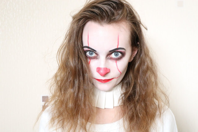 Pennywise-IT-2017-Makeup-Tutorial-Halloween