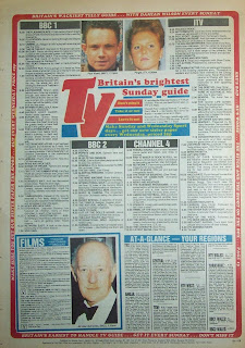 Back page of a vintage Sunday Sport UK tabloid from 9th Oct 88