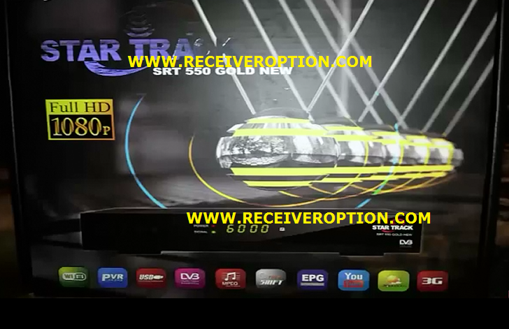STAR TRACK SRT 550 GOLD NEW HD RECEIVER BISS KEY OPTION - HOW TO