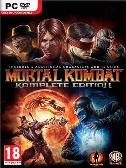 تحميل لعبة Mortal Kombat Komplete Edition مضغوطة برابط واحد مباشر كاملة مجانا