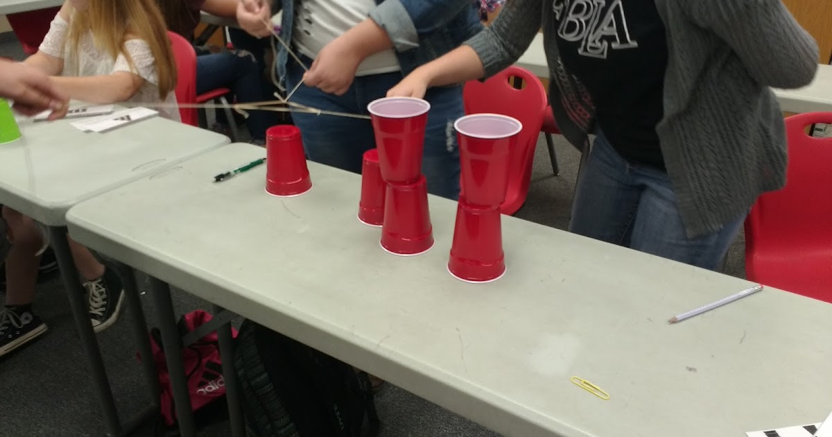 Math Love Cup Stacking Challenge