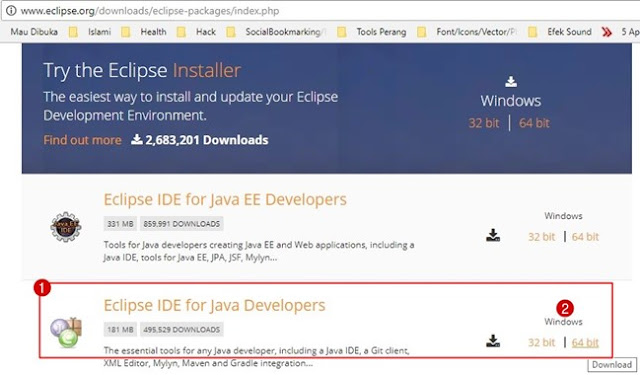 How to Download and Installing Eclipse IDE on Windows 7