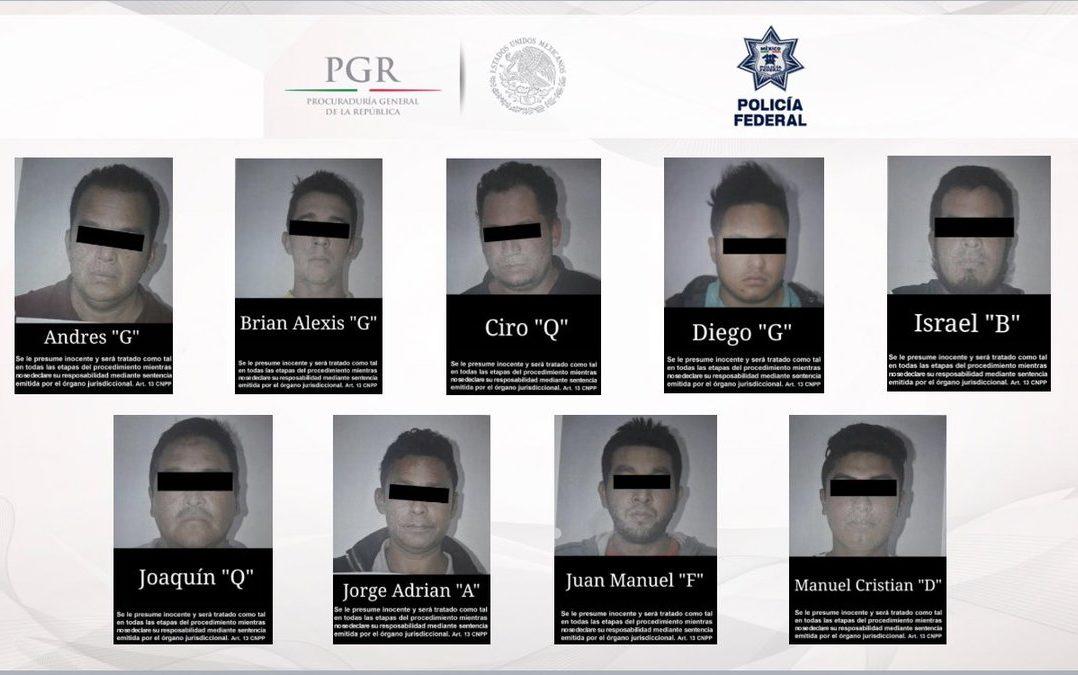 Detienen a 23 huachicoleros en Puebla y el Edomex.