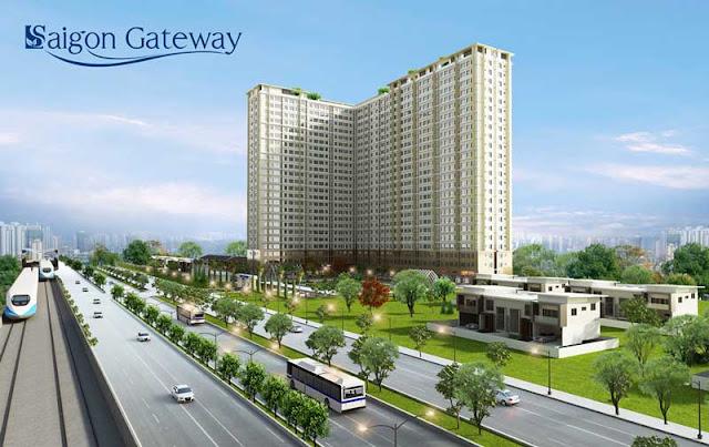 Dự án chung cư Sài Gòn Gateway thu hút nhà đầu tư