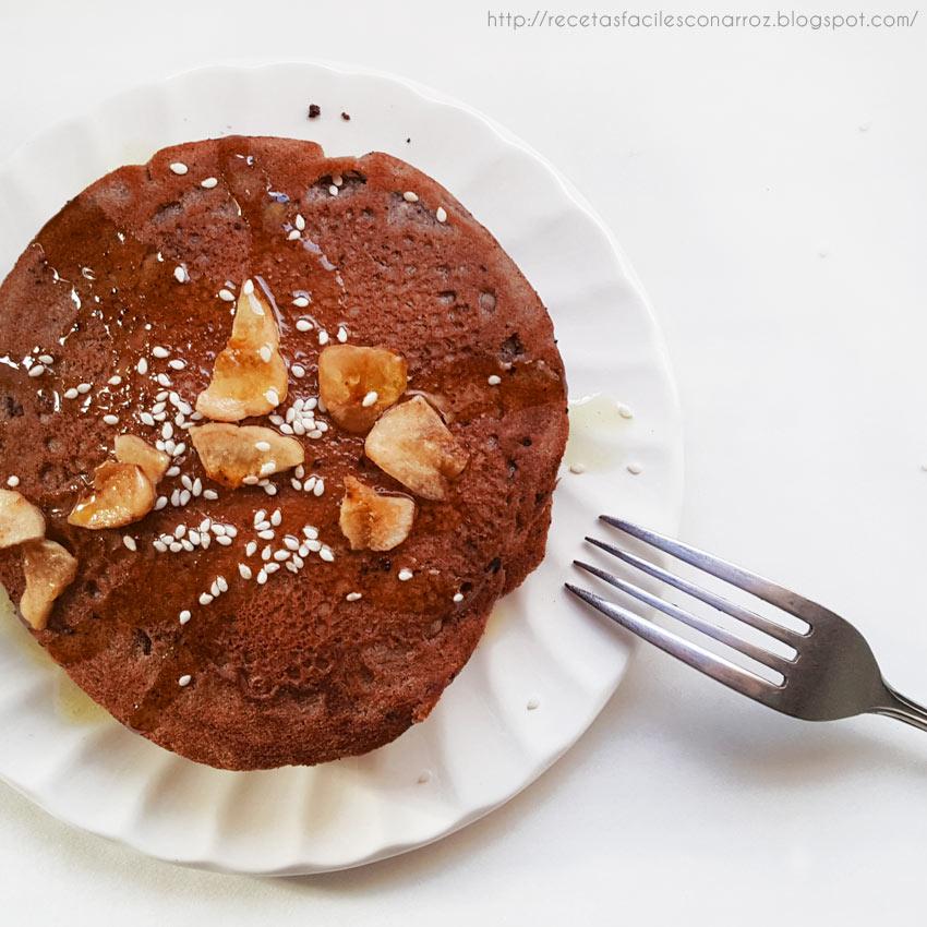 pancakes chocolate