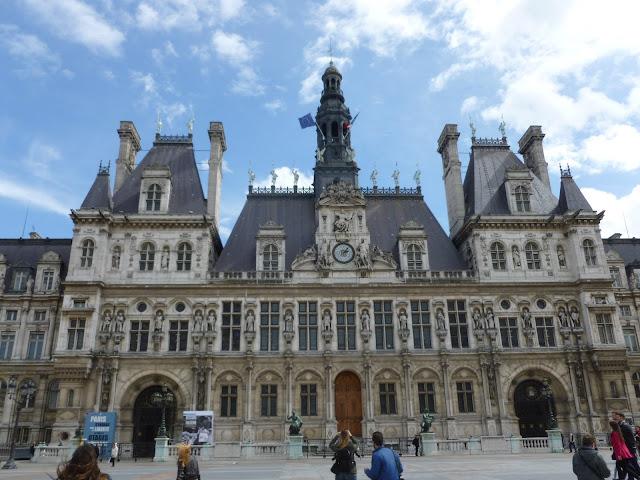 Photo-ops: Philatelic Photograph: Hôtel de Ville - Paris ...