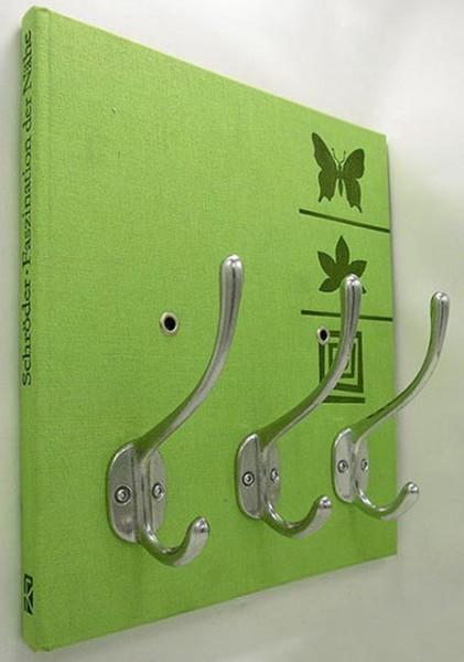 Manualidades junio 2011 for Ganchos para percheros