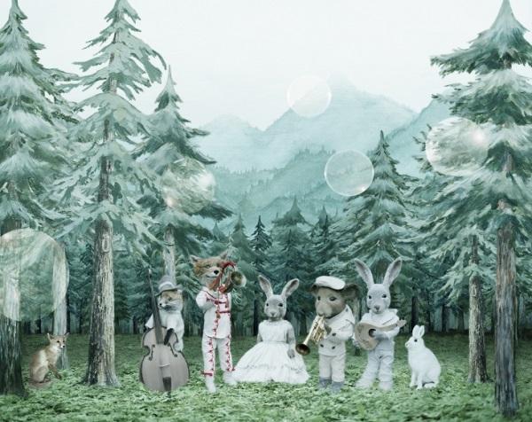 "Helena Blomqvist, ""Misty Mountain Quartet"", 2017."